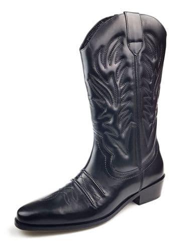 Woodland - Cowboy M699 Black Boots